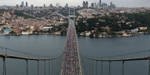 Avrasya Maratonu boğaz