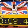 Mo Farah 2 mil rekoru