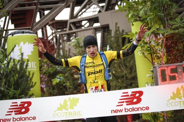 Yarışı kazanan Nicolas DUHAIL, 30-50-75km mesafelerinde uzmanlaşmış bir patika koşucusu. F: C.Guiard
