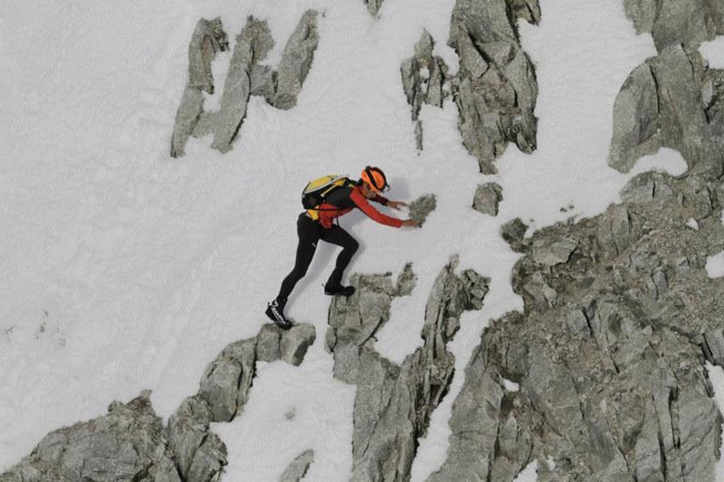 Kilian diğer tüm tırmanışlarda olduğu gibi bu tırmanışı da sabit hatlar kullanmadan gerçekleştirecek. Foto: 7 Summit Club