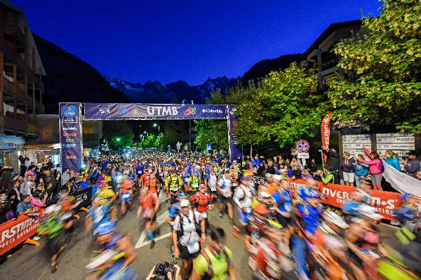 TDS Start anı. Courmeyour. © UTMB® - photo : Michel Cottin